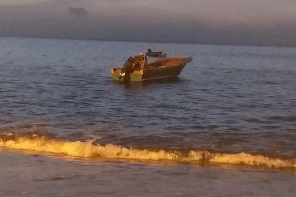 Le bateau de Steve Robert patron de pêche