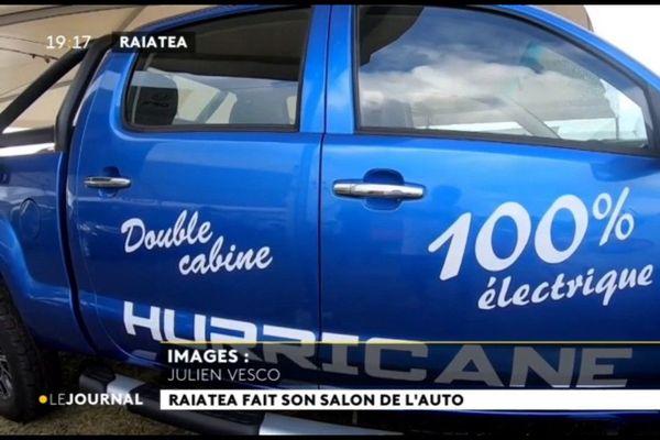 Ouverture du Salon de l'auto de Raiatea