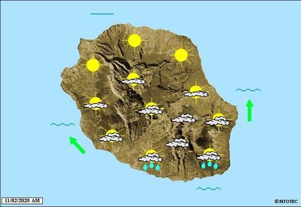 Carte météo 11 février 2020