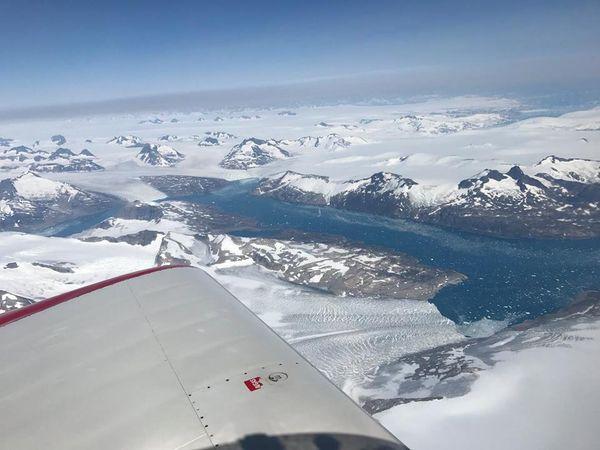 Hugues Jurion tour au monde entre Groënland et Islande  août 2017