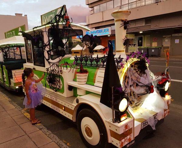 Halloween 2020, petit train