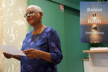 Gerty Dambury à la Librairie Calypso à Paris, le 16 septembre 2021