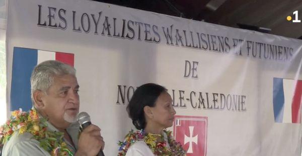 Loyalistes wallisiens et futuniens, 27 février 2021, Alesio Saliga et Françoise Suvé