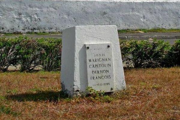 Stèle en hommage aux victimes du 14 février 1952