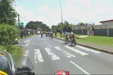 Peloton Tour de Guadeloupe octobre 2021.