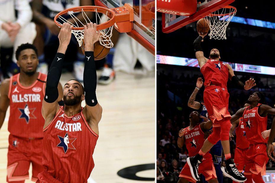 Basket : Rudy Gobert brille lors de son premier All-Star Game - Outre-mer la 1ère
