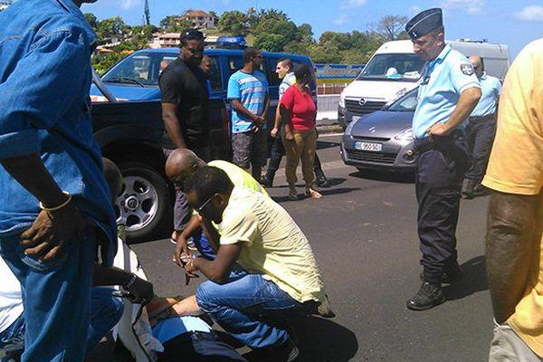 Gendarmes blessés à DUCOS