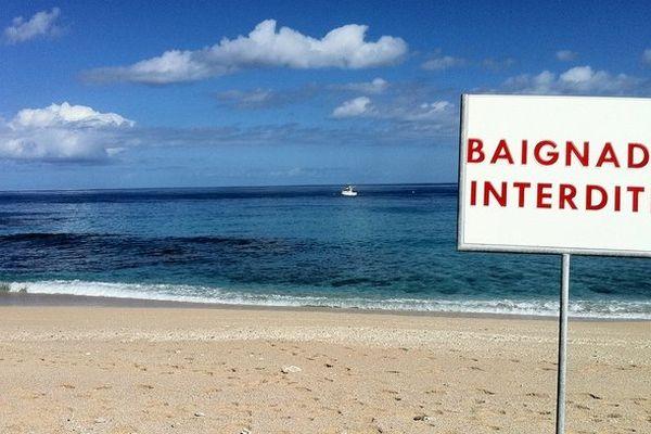baignade interdite à Boucan