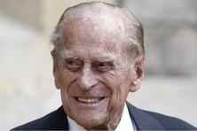 Le prince Philip, au château de Windsor, au Royaume-Uni, le 22 juillet 2020.