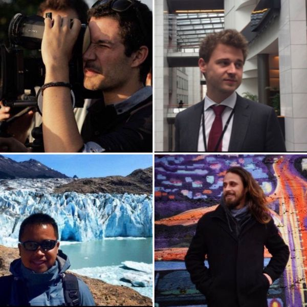 Jérôme, Arthur, Daniel et Joram sont plutôt sereins quant à la tenue du référendum