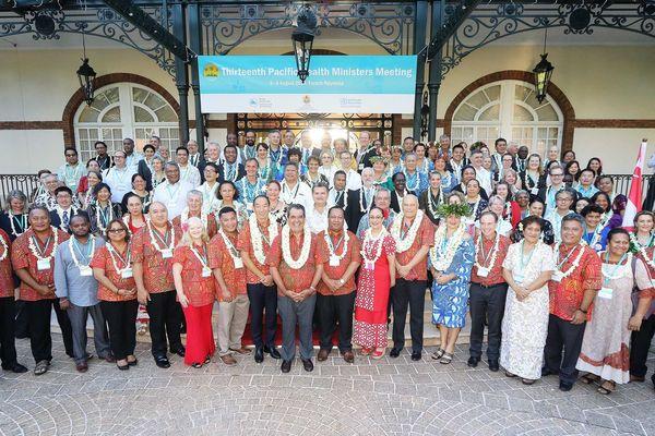 Le changement climatique : la priorité des ministres de la Santé du Pacifique