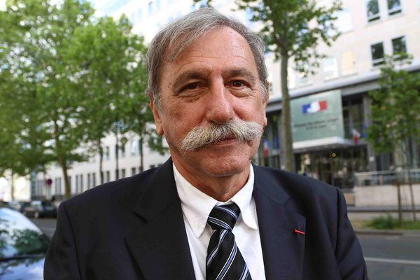 Gérard Javaudin, porte-parole de l'intersyndicale