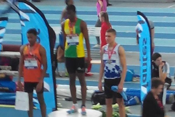 Loic Prévot champion de France 400 m cadet