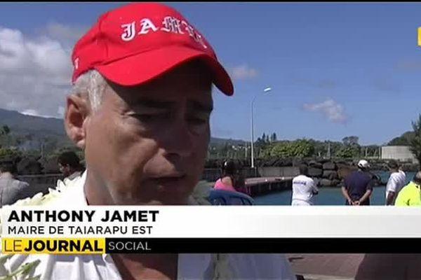 Quel avenir pour le quai des pêcheurs de Faratea ?