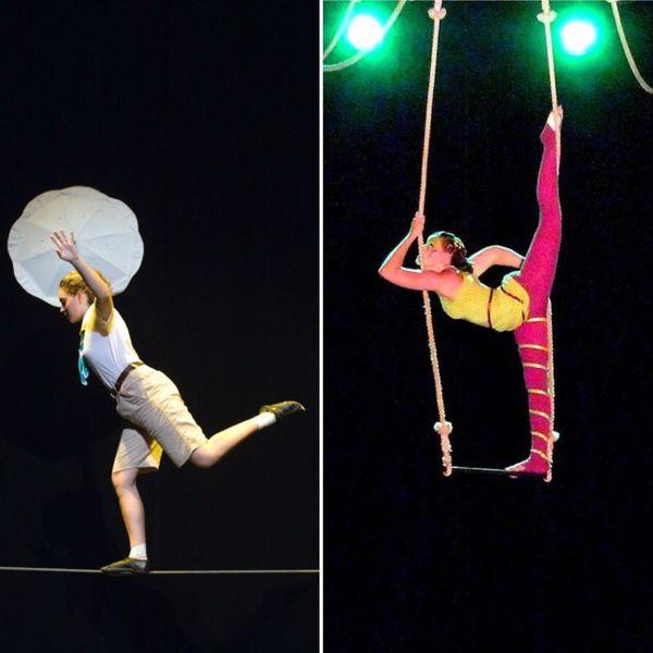 Manon est passionnée de cirque. Elle est restée de longues années à l'école du cirque de Nouvelle-Calédonie