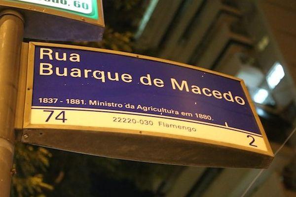 panneau rue rio