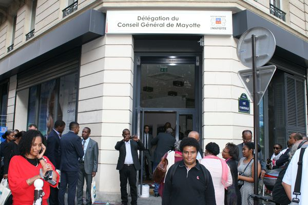 Délégation de Mayotte à Paris