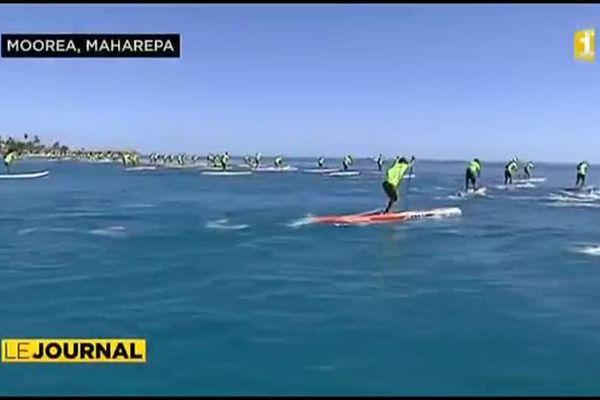 300 compétiteurs au Waterman Tahiti tour de Moorea