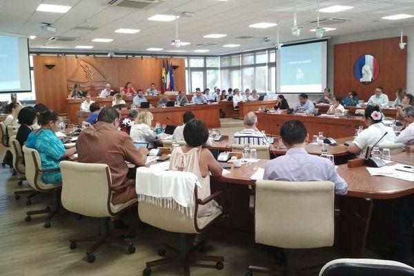 Débat d'orientation budgétaire province sud novembre 2020