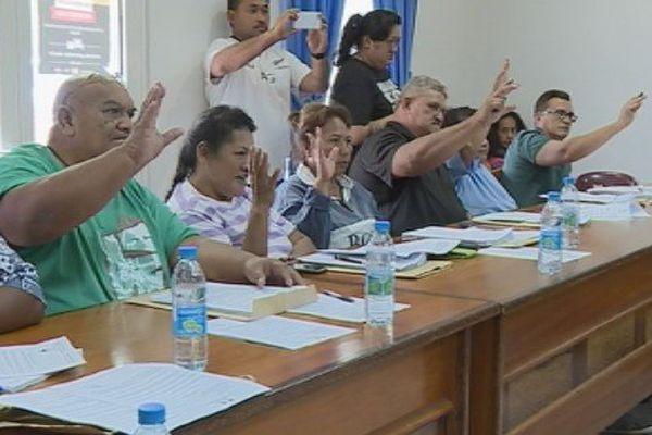 Motion de défiance contre le maire de Hitia O tera