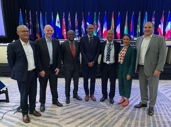 CONCACAF délégations Guadeloupe, Martinique