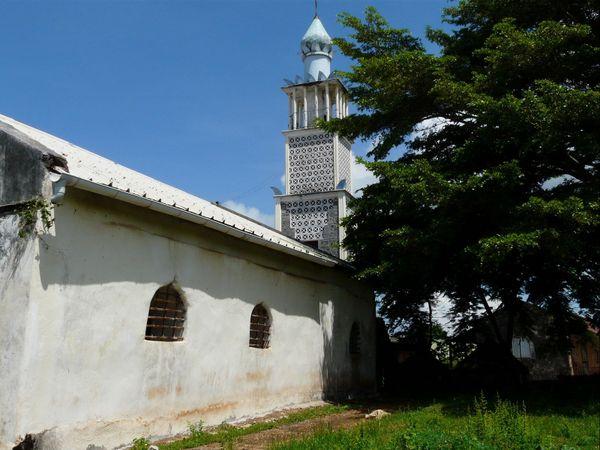Mayotte mosquée de Tsingoni