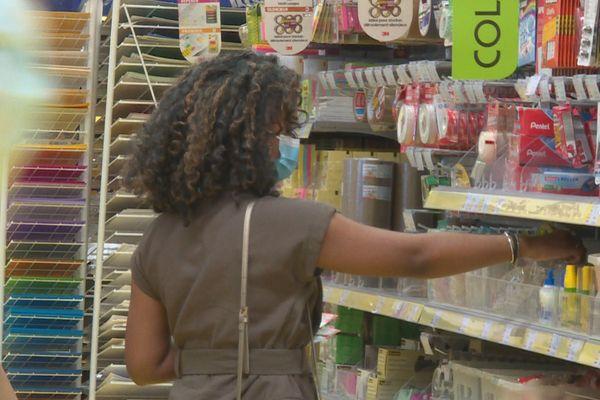 Dernier rush dans les commerces avant la rentrée scolaire