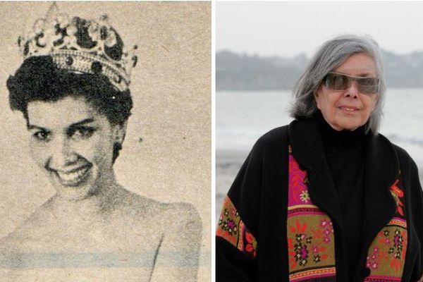 Luce Auger, première miss Outre-mer couronnée miss France en 1961