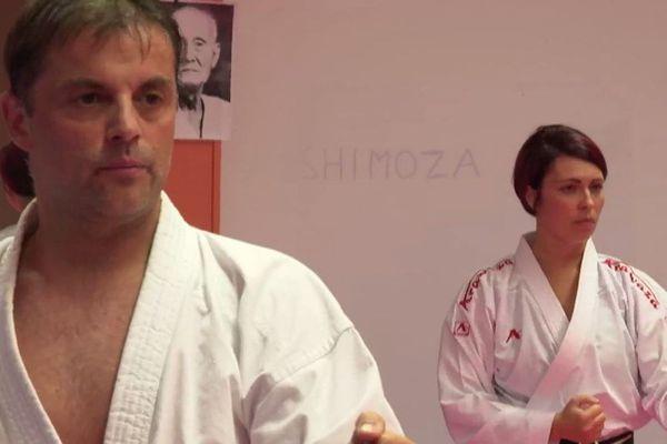 xavier celine largerie karate