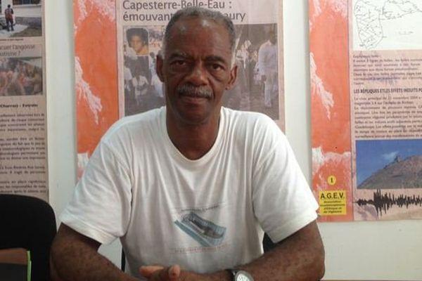 Luc Reinette, membre fondateur du Comité international des peuples noirs