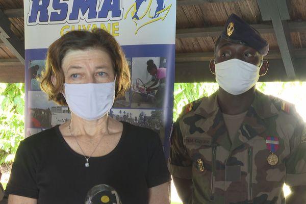 Florence Parly, Ministre des Armées au RSMA