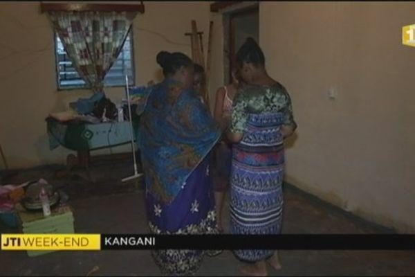 sinistrés de Kangani