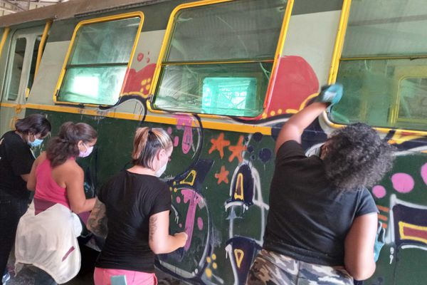 A la Grande Chaloupe, le Ti Train lontan retrouve une nouvelle jeunesse
