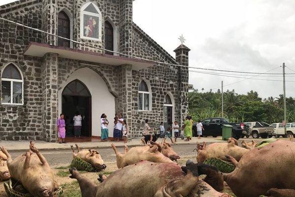Chapelle Saint Vincent de Paul à Gahi