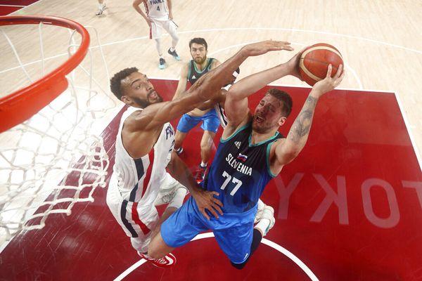Demi-finale JO Basket France Slovénie