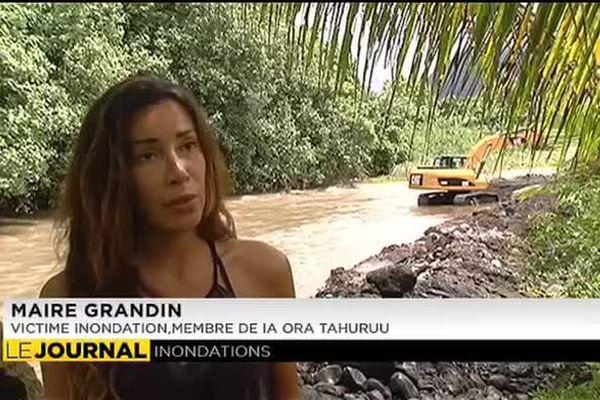 Grogne des riverains de la Tarahuu en crue