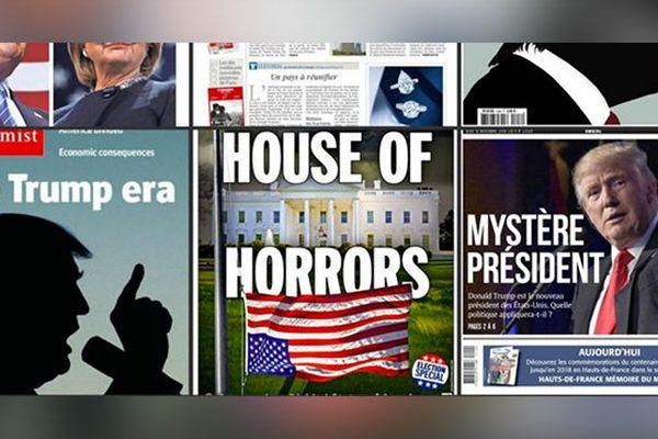 Couvertures journaux US