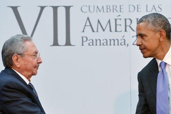 Raul Castro et Barack Obama