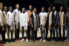 Les treize prétendants au titre d'Ambassadeur Mayotte.