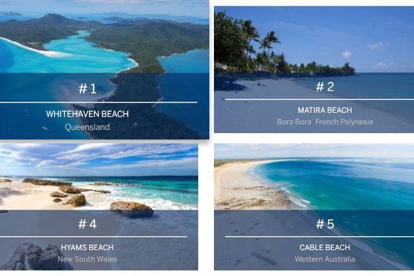 Les plages de la Polynésie parmi les plus belles de l'Océanie