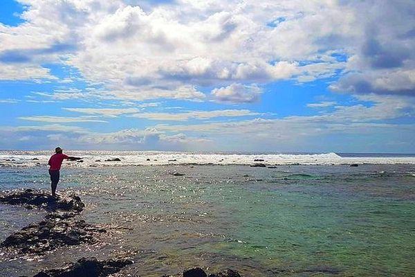 Ciel sur l'Ouest en bord de mer