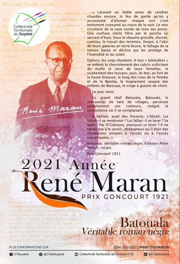 2021 Année René Maran
