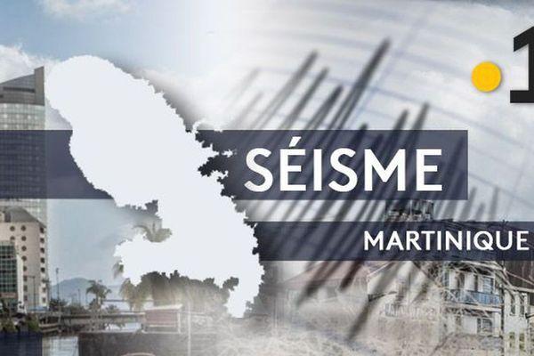Un séisme léger de magnitude 4.4 ressenti dimanche soir en Martinique