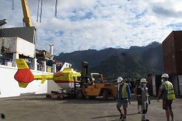 Deuxième hélicoptère pour NukuHiva