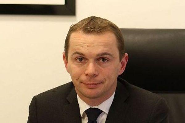 Olivier Dussopt, secrétaire d'Etat auprès du ministre de l'Action et des Comptes publics
