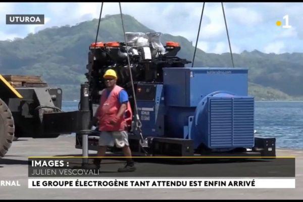 Un nouveau groupe électrogène surpuissant pour Raiatea