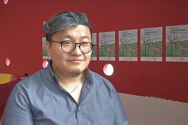 """Yang Bo co-réalisateur avec son père du film """"Feed me"""""""