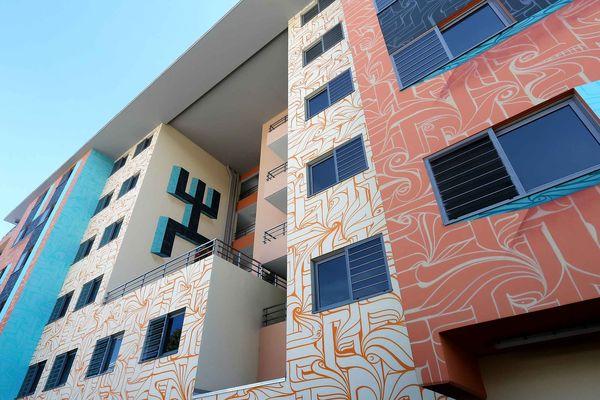 Du graff pour embellir les quartiers