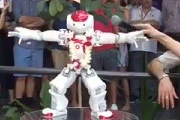 Tahiti Digital Festival : le hakka du robot Nao