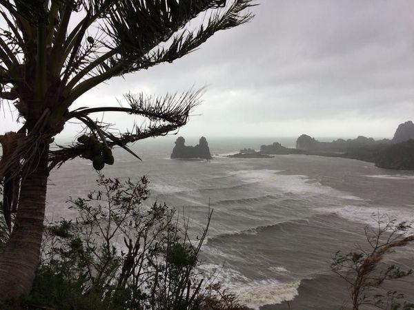 Cyclone Oma à Hienghène